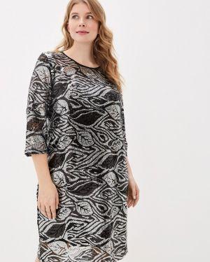 Вечернее платье осеннее серебряный Blagof