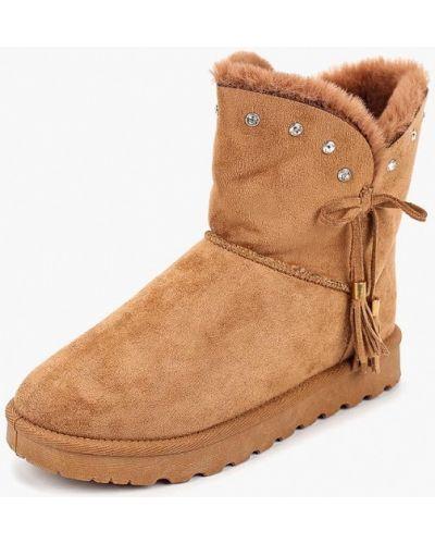 Полусапожки замшевые Max Shoes