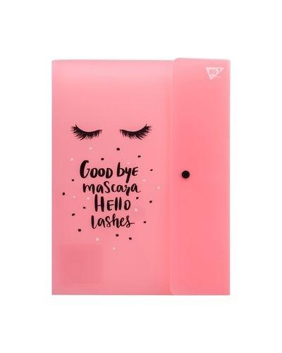 Розовая папка матовая Yes