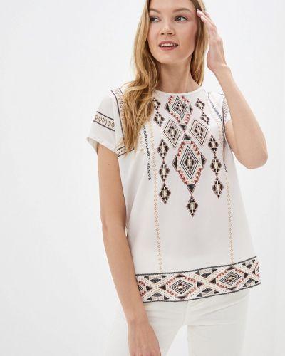 Блузка с коротким рукавом белая турецкий Lc Waikiki