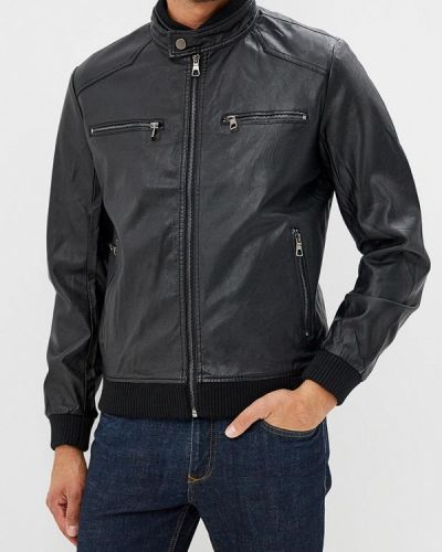 Куртка осенняя кожаная Vanzeer
