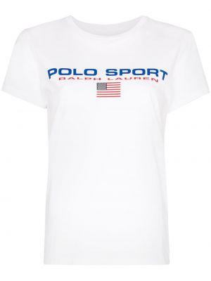 Białe polo bawełniane Polo Ralph Lauren
