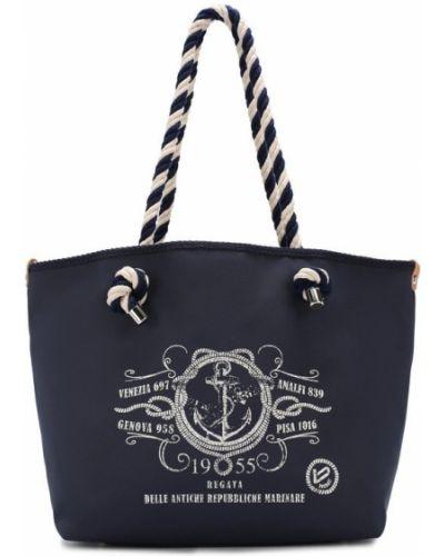 Кожаная сумка плетеная пляжная Bonfanti