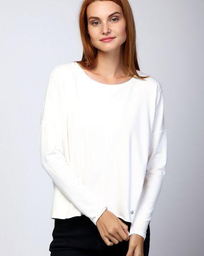 Белый пуловер Monari