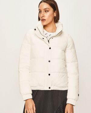 Прямая нейлоновая белая куртка Dkny