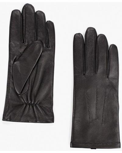 Черные кожаные перчатки Marks & Spencer