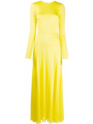 Свободное открытое платье макси с открытой спиной Emilio Pucci