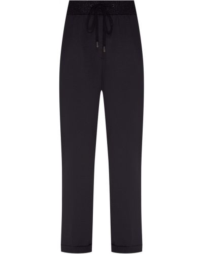 Спортивные брюки с карманами с манжетами Peserico