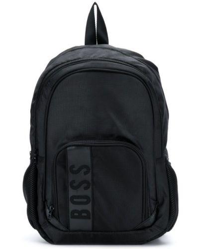 Рюкзак черный двойной Boss Kids