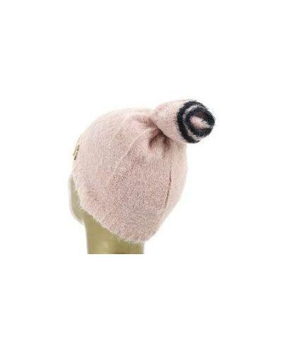 Розовая шапка Patrizia Pepe