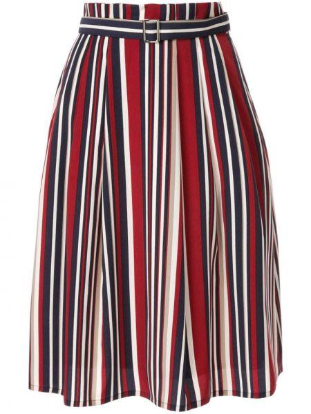 Ажурная расклешенная юбка макси Guild Prime