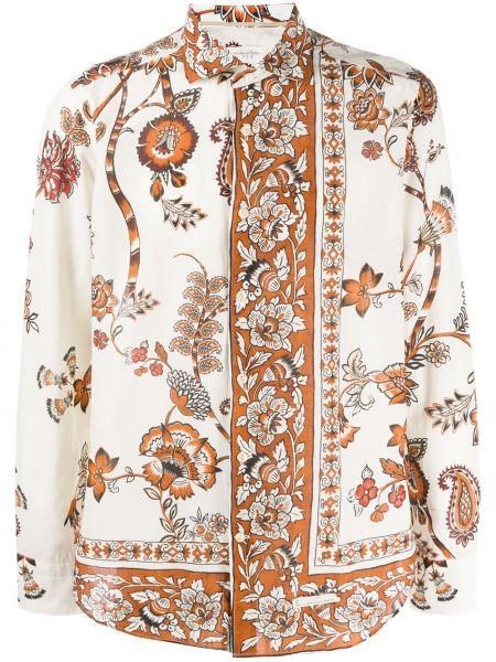 Koszula z długim rękawem klasyczna długa Tintoria Mattei