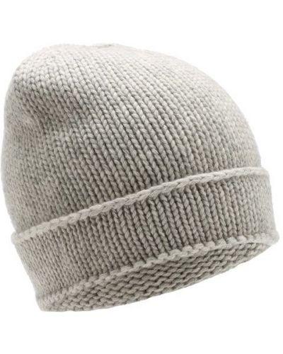 Вязаная шапка шерстяная кашемировая Tegin
