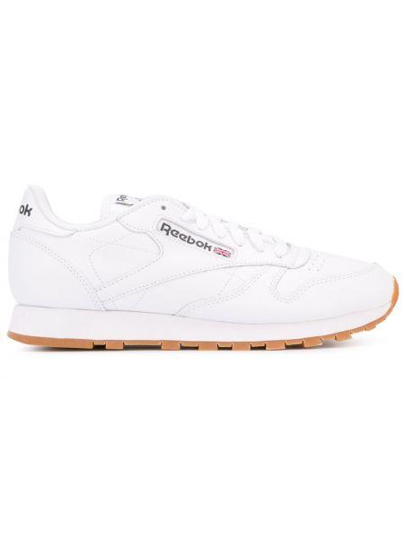 Кожаные кроссовки белый классические Reebok