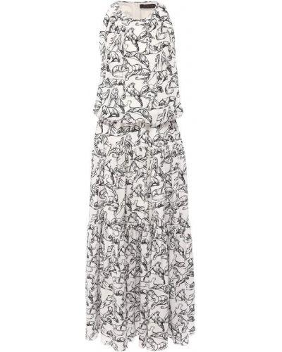 Платье шелковое Chapurin