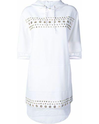 Джинсовое платье с капюшоном Versace Jeans