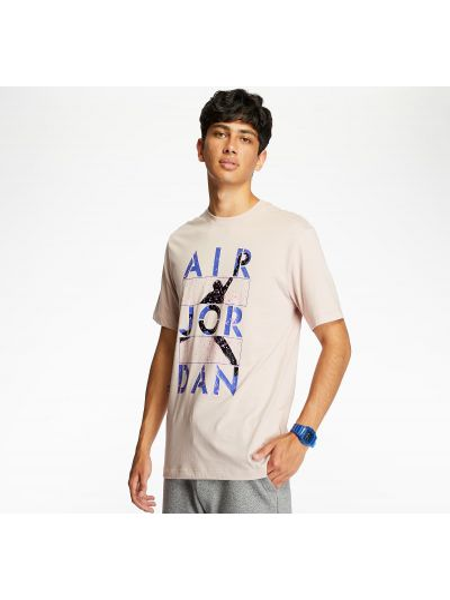 Różowy t-shirt Jordan