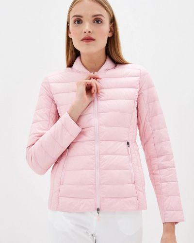 Зимняя куртка весенняя розовая Armani Exchange