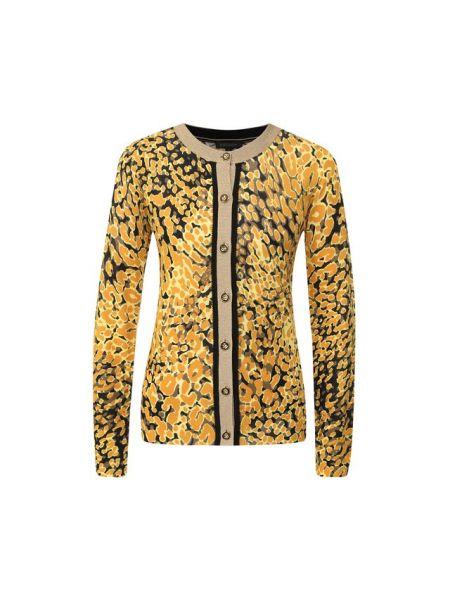 Кардиган леопардовый с люрексом Escada