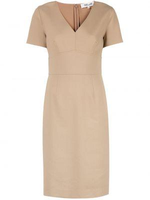 Платье миди футляр с V-образным вырезом Diane Von Furstenberg