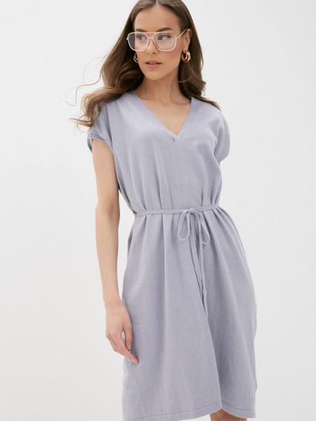 Фиолетовое платье Rodier