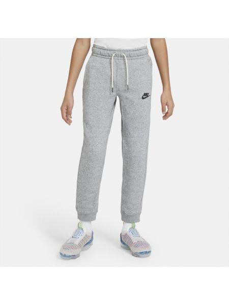 Klasyczne szare joggery dzianinowe Nike