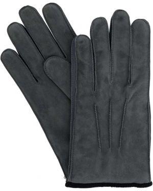 Rękawiczki z mankietami prążkowany Mario Portolano
