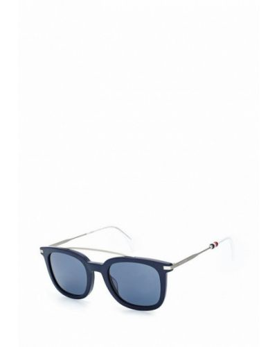 Синие солнцезащитные очки Tommy Hilfiger