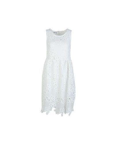 Хлопковое платье - белое Brigitte Bardot