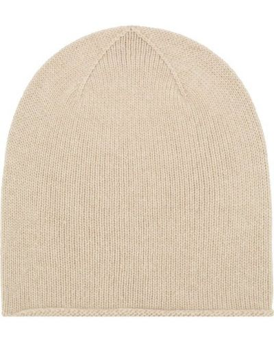 Бежевая шапка Johnstons Of Elgin