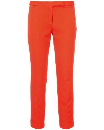 Оранжевые брюки брюки-сигареты Milly