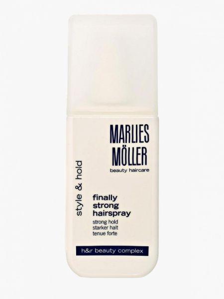 Лак для волос белый Marlies Moller