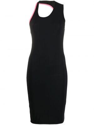 Облегающее платье с рукавами с вырезом Helmut Lang