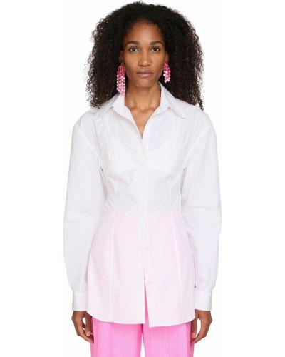 Классическая рубашка на пуговицах из поплина Jacquemus