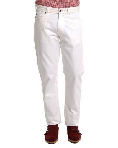 Белые джинсы Ermenegildo Zegna
