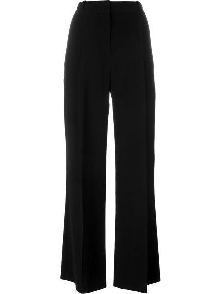 Szerokie spodnie z wysokim stanem czarne Givenchy