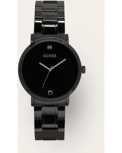 Czarny zegarek kwarcowy Guess