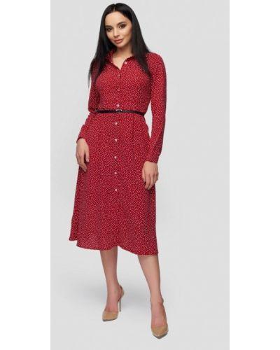 Платье весеннее красный 0101 Brand