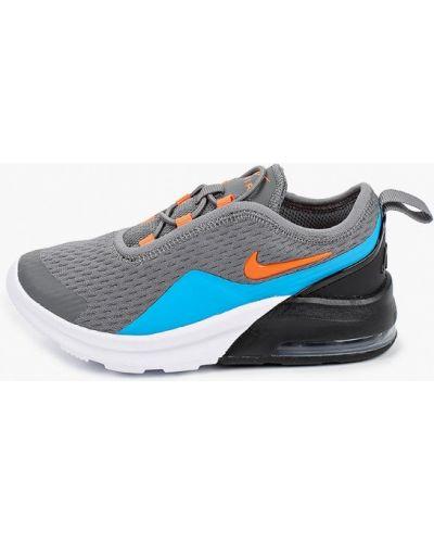 Текстильные серые кроссовки Nike