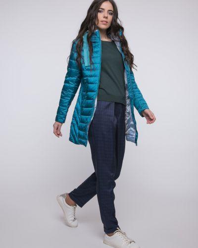 Пальто с капюшоном - бирюзовое Snowimage