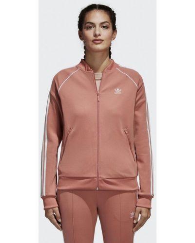 Розовая олимпийка Adidas Originals