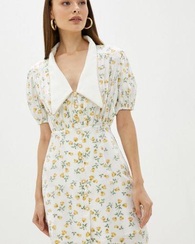 Платье рубашка - белое Sister Jane