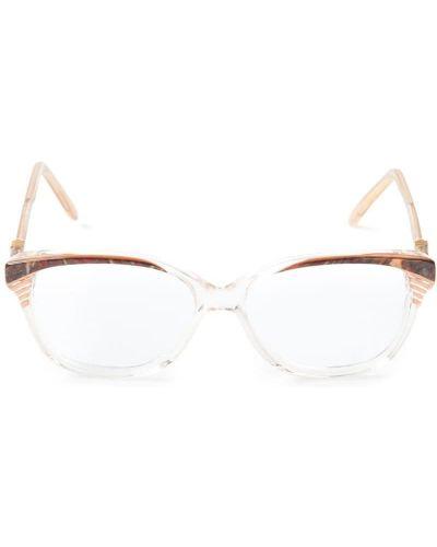 Оправа для очков прозрачные - розовые Yves Saint Laurent Vintage