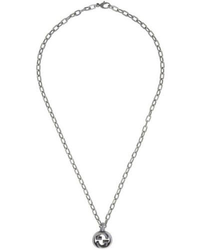 Серебряное ожерелье Gucci