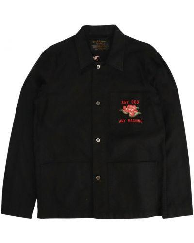 Czarna koszula Deus Ex Machina