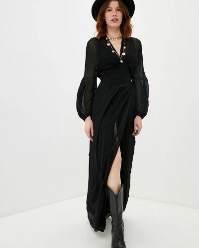 Черное вечернее платье Dondup