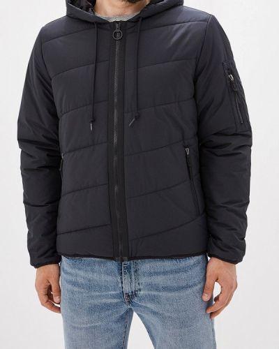 Куртка осенняя утепленная черная Reebok