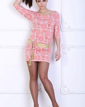 Платье с поясом платье-сарафан с вырезом Ajour
