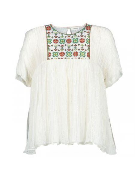Biała bluzka Manoush