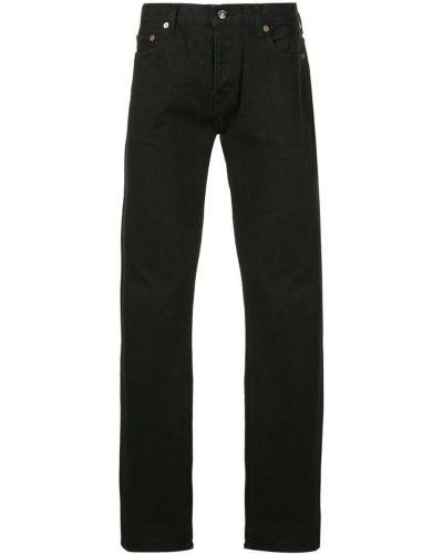 Джинсы классические с карманами черные Addict Clothes Japan
